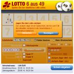 Jagen sie den Lotto-Jackpot! Der Jackpot-Jäger ist ein Spielschein, der bis zum Fall des aktuellen Jackpots in der Gewinnklasse 1 automatisch teilnimmt. (Abbrechen/Bestätigen)