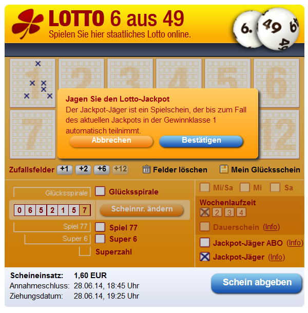 Mein Lotto24