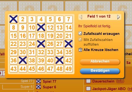 Normalschein von Lotto24